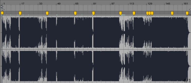 Warping Ableton Tracks
