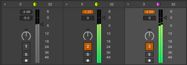 Ableton Utility vs Track Fader